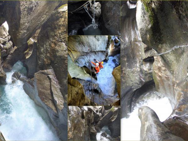 Wildwasser Klettersteig Höllenrachen