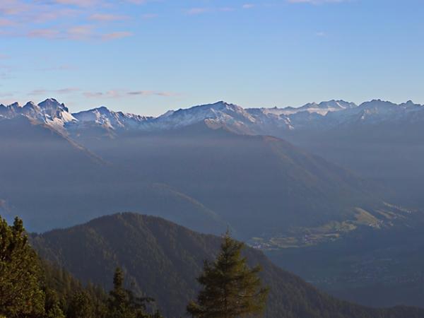 Blick in die Stubaier Berge