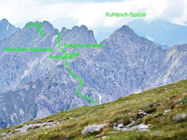 Ein Teil des Freyungen Höhenweges