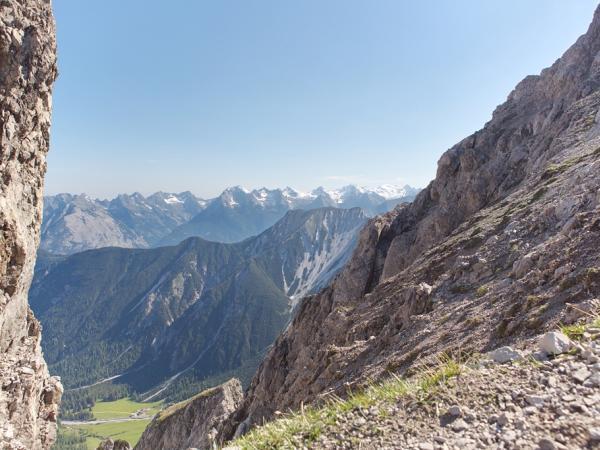 Unterwegs auf dem Höhenweg-Blich ins Karwendel
