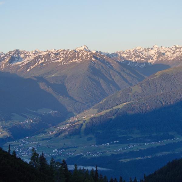 Sonnenaufgang in den Stubaier Bergen!