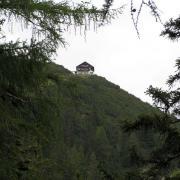 Blick kurz unterhalb der Solnalm zum Solsteinhaus