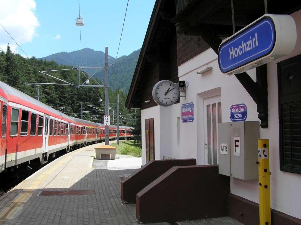 Bahnhof Hochzirl