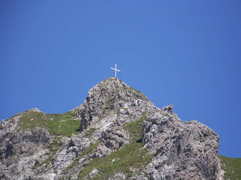 Gipfelkreuz Kuhljochspitze
