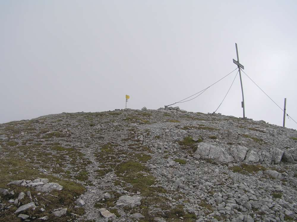 Gipfelkreuz Solstein